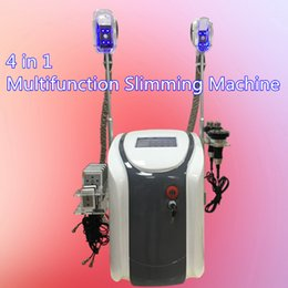 Machines De Liposuccion Maison Pas Cher-2017 4 en 1 minceur machine de beauté lipo laser ultrasons liposuccion cavitation rf cool grosse machine de congélation dispositif à la maison