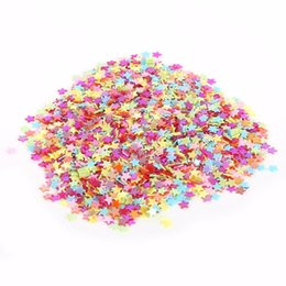 craft machine tools UK - 3mm Mixed Five-Pointed Star Loose Sequin for Clothing Accssory DIY Craft Scrapbooking Wedding Art Decoration Jewelry Making