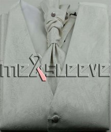 ivory coloured dresses Australia - microfiber fabric dress Bridal ivory colour Tuxedos man's polyester waistcoat 4pcs