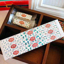 $enCountryForm.capitalKeyWord Australia - Christmas cookie biscuit bag box decorative sealing paster bakery package sticker party gift packing stickers supply