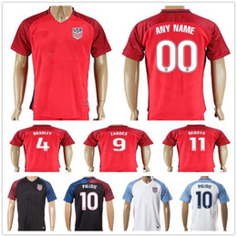82dbfdcb138 US 2017 2018 USA Football Jersey Kit ZARDES PULISIC DEMPSEY LLOYD MORGAN  BRADLEY .
