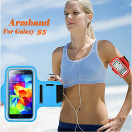 iphone 5.5 cases Australia - 5.5 Inch Universal Waterproof Running & Exercise Arm Band Gym Sports Armband Phone Case with Key Holder for iPhone 8 Plus 8 7