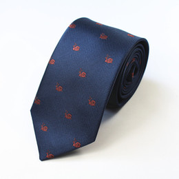 Silk Polyester Canada - high quality Man Silk Polyester Tie Fashion Classic Neckties for men Casual Neckties 6#
