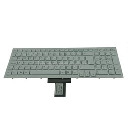 China 148793011 550102M04 NEW For Sony VPC-EB VPC EB Keyboard UK White suppliers