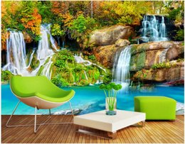 $enCountryForm.capitalKeyWord Australia - 3d room wallpaer custom mural photo Mountain stream landscape scenery picture decoration painting 3d wall murals wallpaper for walls 3 d