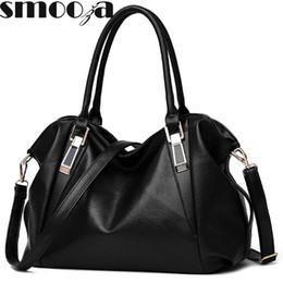 $enCountryForm.capitalKeyWord Canada - Wholesale- SMOOZA Designer Women Handbag Female PU Leather Bags Handbags Ladies Portable Shoulder Bag Office Ladies Hobos Bag Totes
