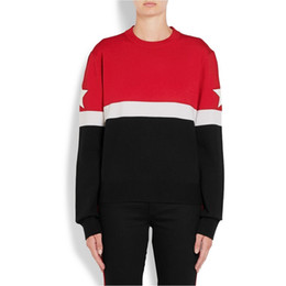 Red Star Sweater Online | Red Black Star Sweater for Sale