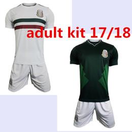 4402e05db ... new 2018 Mexico home away soccer jersey thai quality 2017 2018 Mexico  green white shirt CHICHARITO .