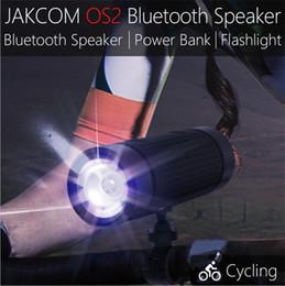 $enCountryForm.capitalKeyWord Canada - JAKCOM OS2 Outdoor Bluetooth Speaker IP56 Waterproof Bluetooth Speaker Smart Flashlight 5200mAh Power Bank with Bike Mount Support TF AUX FM