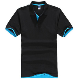 polo xs UK - Brand New Men's Polo Shirt For Men Desiger Polos Men Cotton Short Sleeve shirt jerseys golftennis Plus Size XS- XXXL