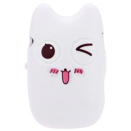 $enCountryForm.capitalKeyWord UK - Wholesale- Mini Portable USB2.0 Cartoon Pattern MP3 Player Support 32G TF Card (not included) with 3.5mm Earphone Plug Cute Style White