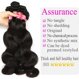 tangle free hair extensions 2019 - Body Wave Brazilian Hair Bundles Malaysian Indian Peruvian Remy Human Hair Extensions brazilian Body Wave Virgin Hair Bu