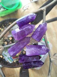 $enCountryForm.capitalKeyWord Canada - 7 pcs natural amethyst quartz point purple crystal wand as gift for selling healing 2 - 3 cm