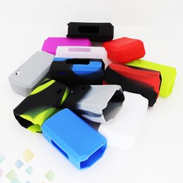 NaNo covers online shopping - Silicone Case for Tarot Nano W TC Box Mod Colors Rubber Sleeve Box protective Cover Protector Skin DHL Free