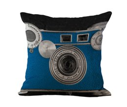 camera drop shipping Australia - Camera Lens Pillow Case Cushion cover Linen Cotton Throw Pillow cases sofa Bed Pillow covers home decor drop ship
