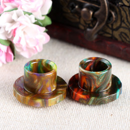 ElEctronic cigarEttEs atomizErs bEst quality online shopping - In Stock Epoxy Resin Drip Tips For Cleito Atomizer Tank Best Cleito Mouthpiece Colorful High quality Electronic Cigarette Free Ship