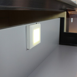 Battery Operated Led Bathroom Lighting Over Mirror Cabinet With PIR Or  Motion Sensor