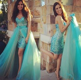 Short Prom Dresses with Trains