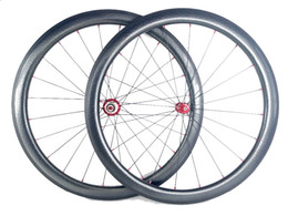 Chinese  Golf surface carbon wheels 45mm depth 25mm width carbon wheelset full carbon fiber Dimple surface wheelset with Powerway R36 hub manufacturers