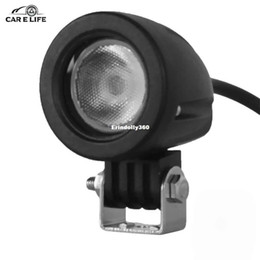 Cars Different UK - DY609 10W Car Floodlight LED Head Lamp 1000LM 6000K White IP68 Waterproof Headlight for Different Types of Vehicles Round Design