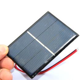$enCountryForm.capitalKeyWord Canada - Hot High Quality 0.65W 1.5V Solar Cell Polycrystalline Solar Panel DIY Solar Charger +15CM Cable Education Kis 50pcs lot FreeShipping