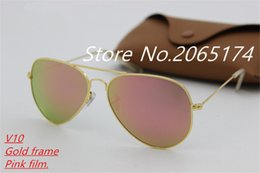 $enCountryForm.capitalKeyWord Canada - classic high-quality designer color film influx of people sunglasses men and women personality frog mirror high-definition aluminum mag