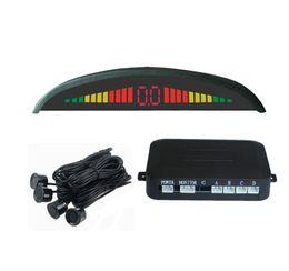 Probe Car UK - Spot PZ302 PZ303 PZ304 LED Parking Sensor Car Crescent Beeper Reversing Radar Four Probes Numeral LED Digital Display Free EUB Epacket