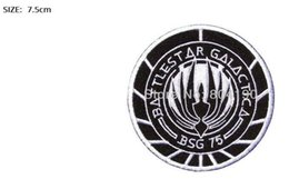 $enCountryForm.capitalKeyWord NZ - Battlestar Galactica BSG-75 Officer Uniform Movie Embroidered LOGO Iron On Patch badge Customized patch available