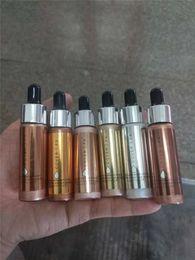 $enCountryForm.capitalKeyWord Canada - Brand Cover FX Custom Enhancer Drops Face Highlighter Powder Makeup Glow 6 color 15ml liquid Highlighters set
