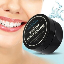 Dientes Calientes Baratos-Hot SaleTeeth Whitening Powder Nature Bamboo Activated Charcoal Smile Polvo Descontaminación Diente Amarillo Mancha Bambú Pasta Dental Cuidado Oral