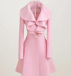 Pink Woman S Woolen Coats Online | Pink Woman S Woolen Coats for Sale