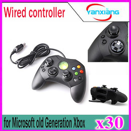 Video game generation online shopping - 30pcs Wired Controller S Type A for Microsoft Old Generation Xbox Console Video Game YX XBOX