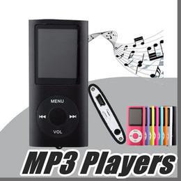 "Discount micro sd video player - 2017 MP3 MP4 Player Slim 4TH 1.8""LCD Video Radio FM Player Support 4GB 8GB 16GB 32GB Micro SD TF Card Mp4 4th Gener"