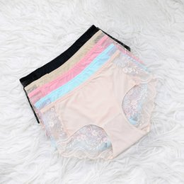 Barato Senhora Underpants Atacado-Sexy Lace Women Underwear Panties Respiração Tentação Briefs Knickers Ladies Seamless Underpants Lingeries One Size Wholesale