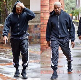 $enCountryForm.capitalKeyWord Canada - 2017 NEW TOP kanye west jumpsuit men gym clothing pants hip hop patched track beam foot trousers Side zipper sports pants 30-36