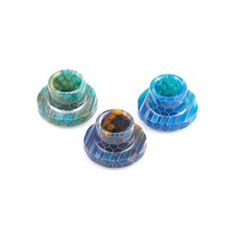 package retail 2019 - 2017 Cleito 120 Drip Tips Serpentine Pattern Epoxy resin Drip Tips Mouthpieces for Cleito 120 Atomizer Tank Retail packa