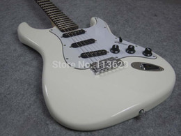online shopping Custom Shop Artist Signature Guitar Ritchie Blackmore s Gray White ST Electric Guitar Scalloped Fingerboard Bolt Neck Joint