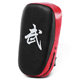 China Square Taekwondo Boxing Pad Punching Bag Karate Sparring Muay Thai TKD Training Foot Target Gear PU leather Surface Foam 5 colors +B cheap muay thai bags suppliers