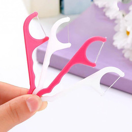 dental care toothpick 2019 - Wholesale- High Quality Toothpicks Interdental Brush 50pcs dental floss Oral Gum Teeth Clean Tools Care cheap dental car