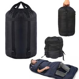 $enCountryForm.capitalKeyWord NZ - HOT SALE Portable Lightweight Compression Stuff Sack Bag Outdoor Camping Sleeping L Size Camping Equipment