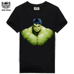 T-shirt Credo Pas Cher-Vente en gros- [Hommes os] Nouveaux Hommes T-shirts Manny Pacquiao Été 3d Chemises Comic Hulk T-shirts Assassins Creed O Cou pour Hommes Camisa