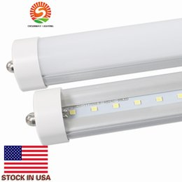 6ft single pin online shopping - LED tubes light T8 ft W LM Single pin LED Tube Light FA8 LED fluorescent bulbs SMD2835 AC85 V real price