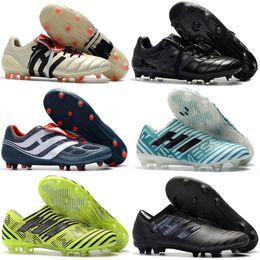 493fe3417d22 New 2018 100% Original Nemeziz Messi 17.1 FG Soccer Shoes Mens Football  Shoes Nemeziz 17+ 360 Agility FG Soccer Boots Soccer Cleats