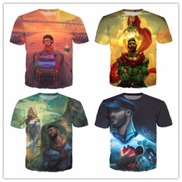 Barato Estilo Das Camisas Da Forma Dos Homens-Jon Bellion Mais recente Moda Mens / Womans Cartoon T-Shirt Summer Style Funny 3D Print Casual T-Shirt Tops Plus Size AA286