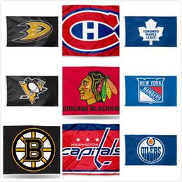 Team flags online shopping - Pittsburgh Penguins Team Toronto Maple Leafs Boston Bruins Edmonton Oilers Hockey Team Flags Football Baseball Champion Flags CM Flag