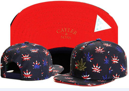 China hot sale CAYLER SONS usa flag leaf basketball baseball caps brands hip hop sun hat snapback hats for men and women TYMY 367 suppliers