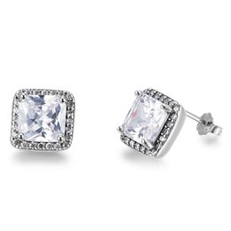 in octagon product earrings square gold tanzanite and diamond shaped white drop round