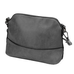 9cdac8371c Wholesale- 2016 Hot Sale Women Messenger Female Fashion Scrub Shoulder Bag  PU Leather Purse Girls Satchel Messenger Crossbody Bag Nov24