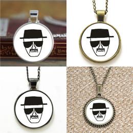 Bad alloys online shopping - 10pcs Breaking bad Glass Photo Necklace keyring bookmark cufflink earring bracelet