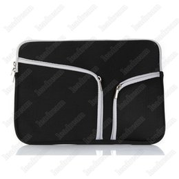 "2018 apple macbook pro air bag Soft Zipper Liner Sleeve Hand Bag Case Cover for Apple Macbook Air Pro 11'' 12'' 13"" 15"" discount apple macbook pro air bag"